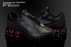 Кроссовки Adidas Рorsche Design IV (4) series черно-красные, фото 3