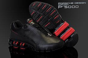 Кроссовки Adidas Рorsche Design IV (4) series черно-красные, фото 2