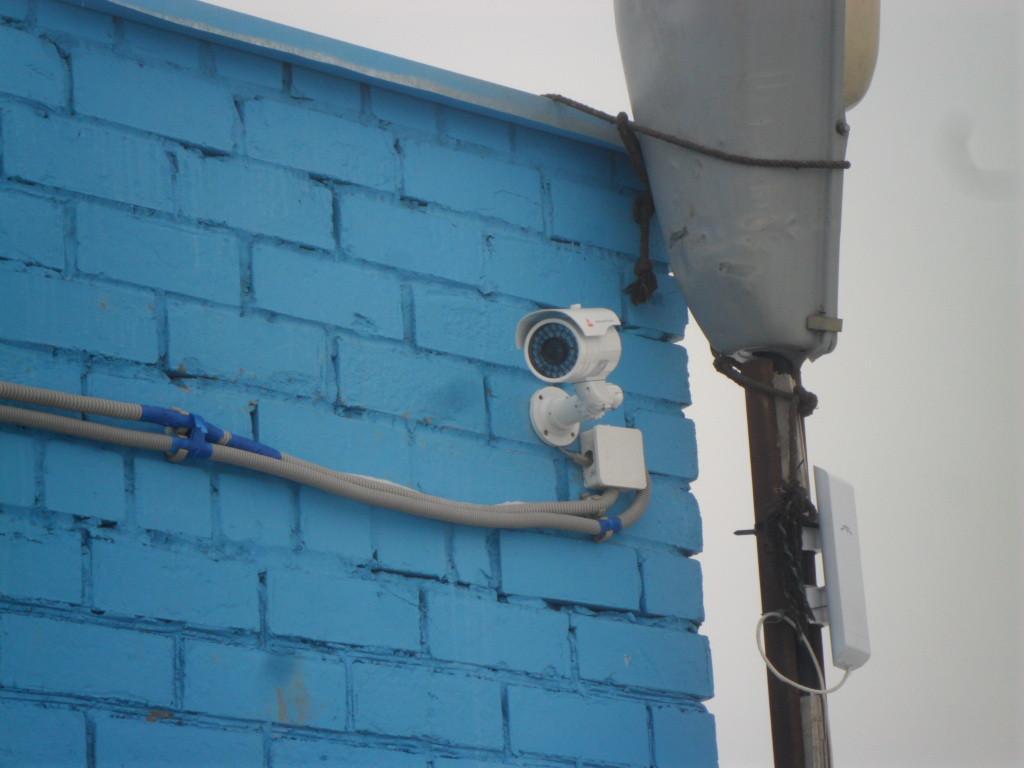 Видеонаблюдение на КТП городской свалки г . Астана