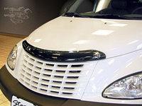 Мухобойка (дефлектор капота) Chrysler PT-cruiser 2001-2009