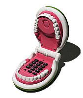 """Подарок """"Телефон в форме рта"""", раскладной"""