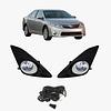 Противотуманные фары Toyota CAMRY-50 USA/UAE DLAA TY530B (черн.обод) wire&switch