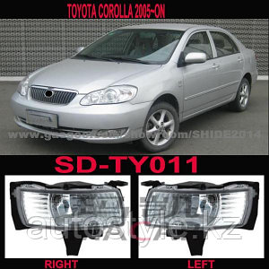Противотуманные фары Toyota COROLLA 05г. австралийка / ОАЭ