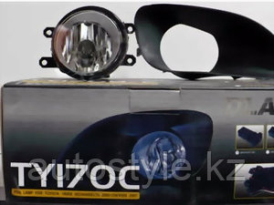 Противотуманные фары Toyota YARIS седан 06-11 DLAA TY170C /VIOS 07-11/BELTA wire&switch