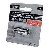 Батарейка CR123A - Robiton Profi CR123A