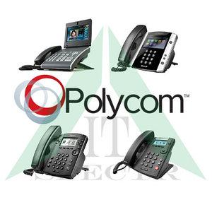 Polycom офисные VoIP-телефоны