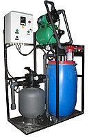 Комплекс очистки воды для автомоек с 2-мя постави РОСА-3