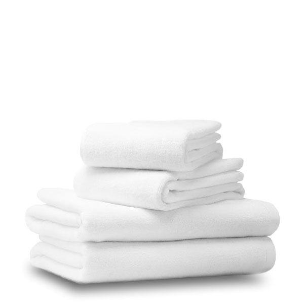 Махровое полотенце 50*100 белое, Россия ( плотнос500 г/м2)