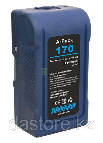 Logocam A-Pack 170 аккумулятор Gold Mount (AB), 170 Ватт/часов, фото 2