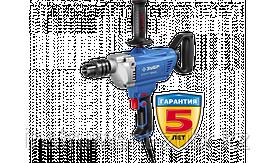 Дрель-миксер реверсивная, ЗУБР Профессионал ЗДМ-1200 РММ2, 160 Нм, патрон 16 мм, 0-850 об/мин, 1200 Вт
