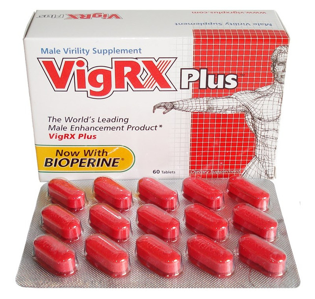 """Препарат для улучшения потенции """"VigRX plus"""" (60 капсул)"""