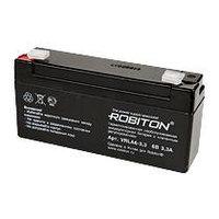Аккумулятор ROBITON VRLA6-3,3  6V 3,3Ah для кассовых аппаратов
