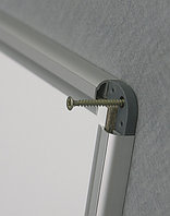 Доска маркерная магнитная в алюминиевой раме X7 90*60см 2x3 (Польша), фото 1