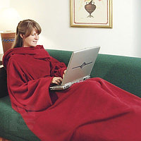 """Одеяло с рукавами """"УЮТНАЯ ЗИМА""""  Blanket with sleeves"""