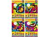 Набор бархатного цветного картона 5 листа
