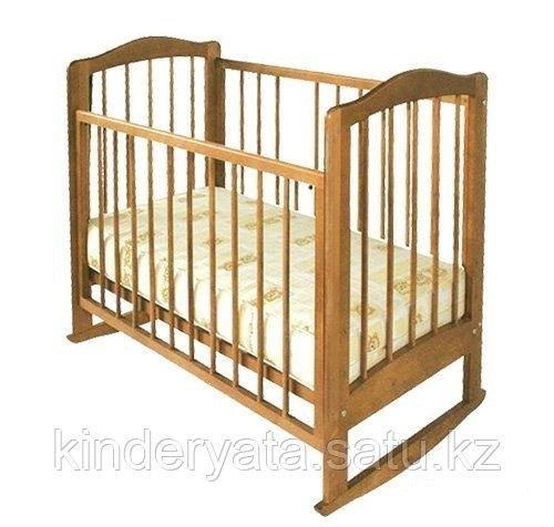 Детская кроватка Катя (Можга) (бук,орех)