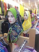 Хиджаб.кимешек.мусульсанская одежда Малиновый