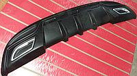 Диффузор на задний бампер автомобиля Hyundai Elantra (Avante MD) 2010-2013 вар 2, фото 1