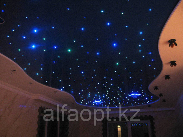 Светодиодное освещение для натяжных комбинированных потолков.