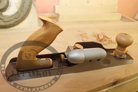 Рубанок Dictum N62, 350мм/50мм/12град, с ручкой HotDog для правого борта