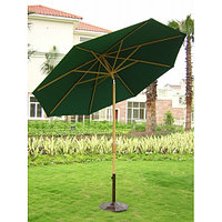 Зонт пляжный, круглый, 2,5м (зеленый)