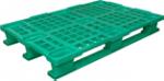 Поддоны  полимерные перфорированные 1200 Х 1000 Х 160  мм. с  полозьями