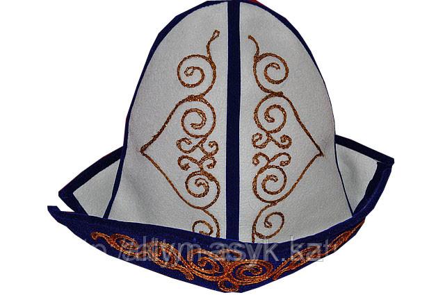 Қалпақ (калпак) из войлока с казахским орнаментом