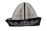 Қалпақ (калпак) из войлока с казахским орнаментом, фото 2