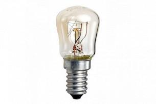 Лампа накаливания Camelion P E14 15W прозрачная для холодильников и швейных машин 15/P/CL/E14