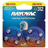 Батарейка для слуховых аппаратов RAYOVAC 312 PR41  1,45v