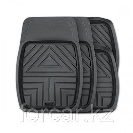 Комплект ковриков-ванночек ARROW для салона серые, фото 2