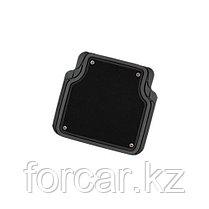 Комплект салонных ковриков Focus-2 с отстёгивающимся ковролином черн/сер, фото 3