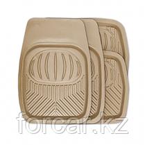 Комплект ковриков-ванночек Polar для салона серые, фото 3