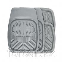 Комплект ковриков-ванночек Polar для салона серые, фото 2