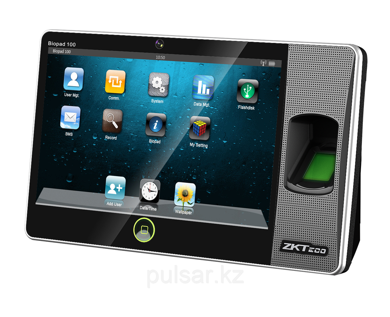 ZKTeco BIOPAD100 - Терминал учёта рбочего времени с 7-дюймовым сенсорным экраном