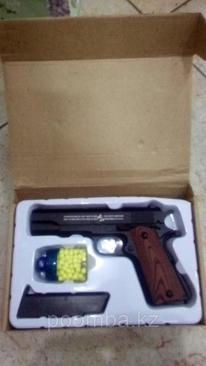 Игрушечный металлический пистолет С.8