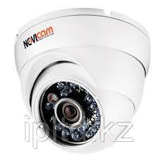 Вандалозащищённая всепогодная купольная IP видеокамера NOVIcam N22W
