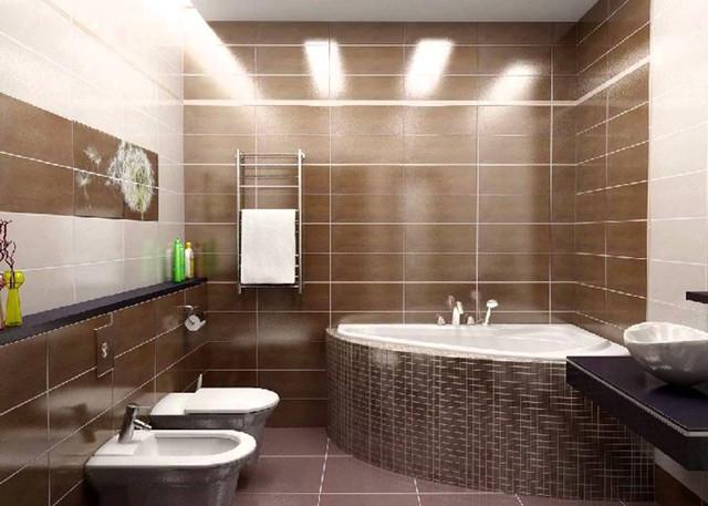 Ванные и туалетные комнаты