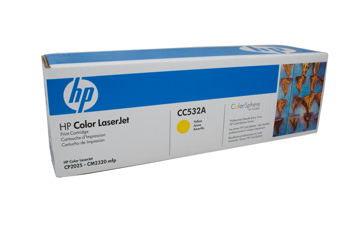 HP CC532A - Yellow
