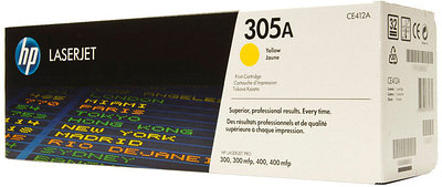 HP CE412A - Yellow