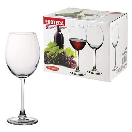 Набор бокалов для вина Pasabahce Enoteca 6 шт. 420 мл (44728/6)