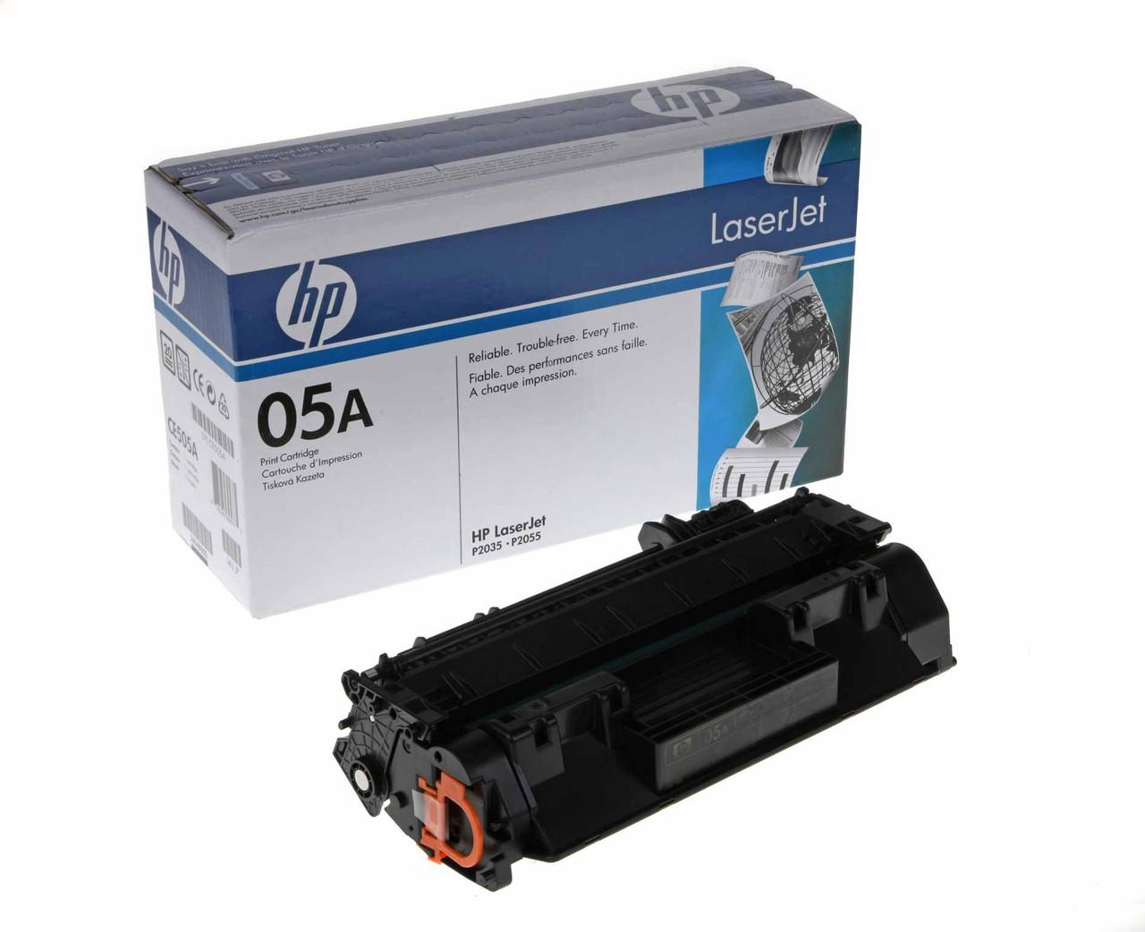 HP CE505A - Black