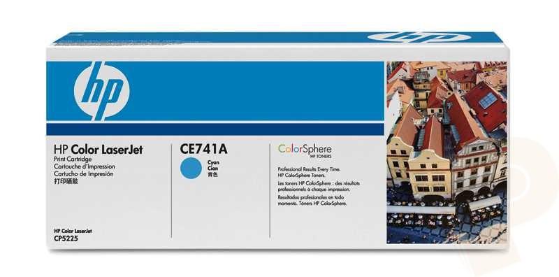 HP CE741A - Cyan