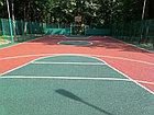 Резиновое наливное покрытие, универсальное,бесшовное (Тартан), фото 3
