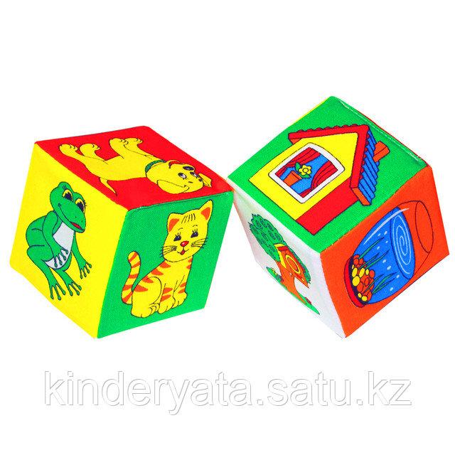 """Набор кубиков """"Чей домик"""""""