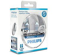 Лампа фары H7 PHILIPS WHITEVISION 12V 55W 12972WHVSM