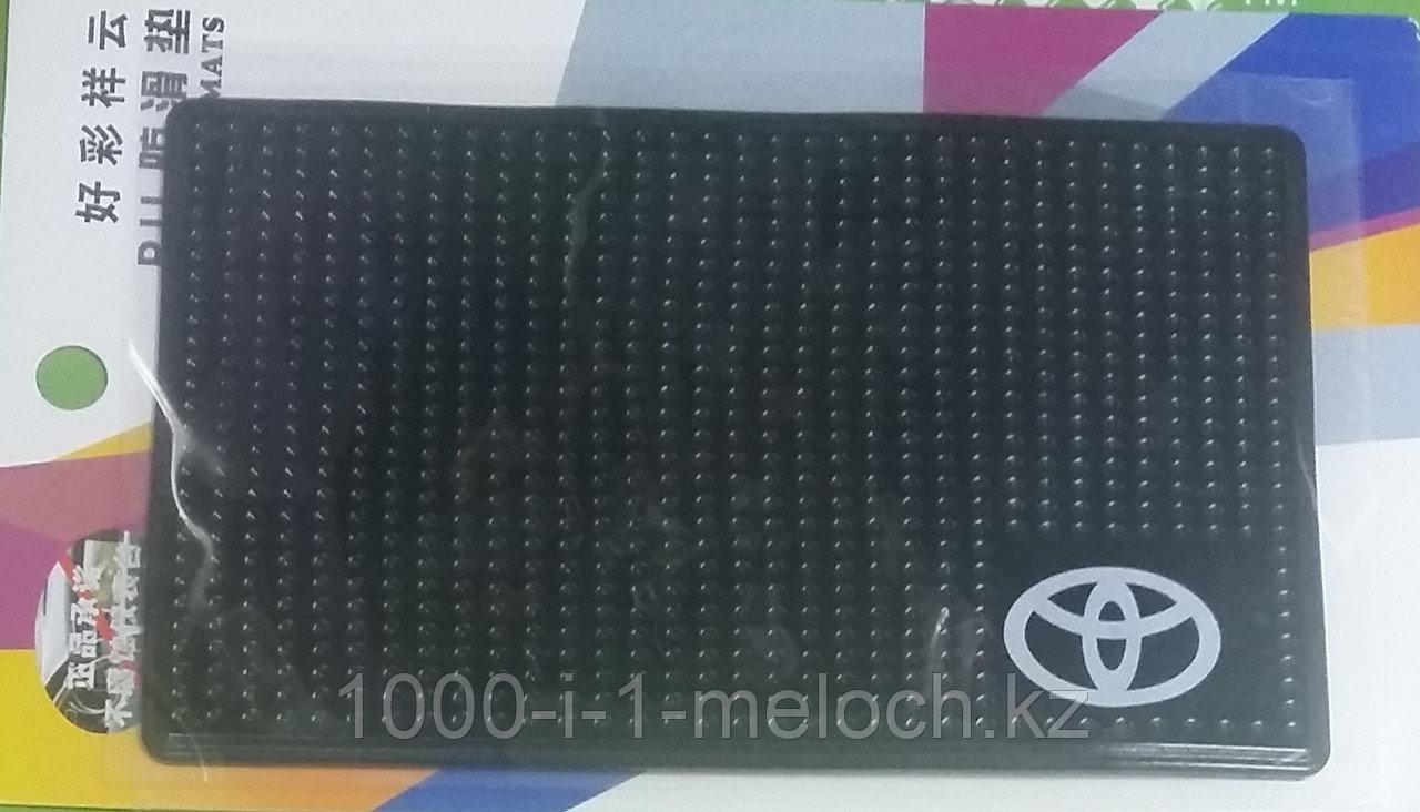 Противоскользящий силиконовый коврик коврики с марками машин. Алматы - фото 3