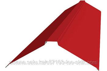 Планка конька плоского 190*190*2000 ПЭ