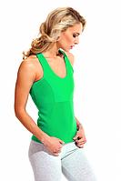 Майка для похудения «BODY SHAPER», (зеленый), размер S-XXXXL