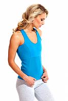 Майка для похудения «BODY SHAPER», (голубой), размер S-XXXXL, фото 1